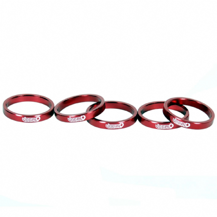 Vocal Headset Spacer Alloy 5mm - Red